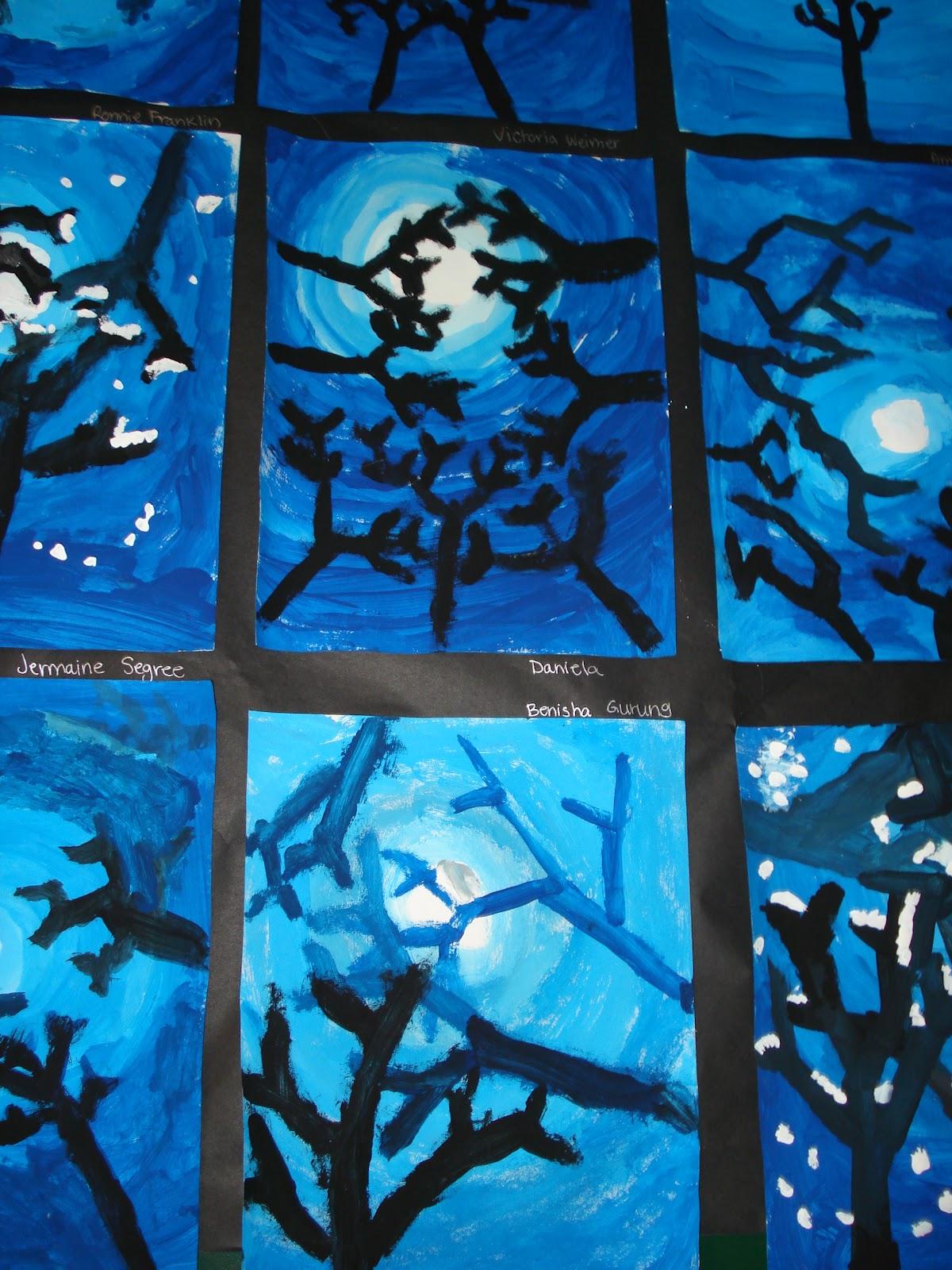 Winter Art Projects Grade 3