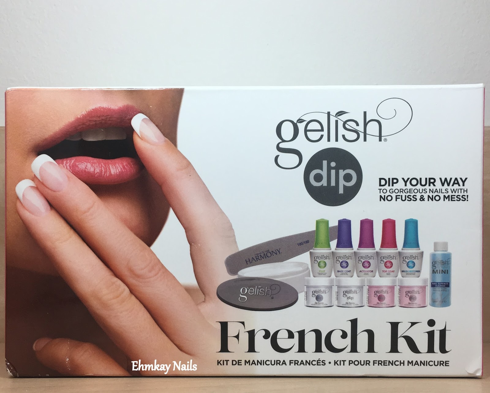 ehmkay nails: Gelish Dip Powder Manicure System