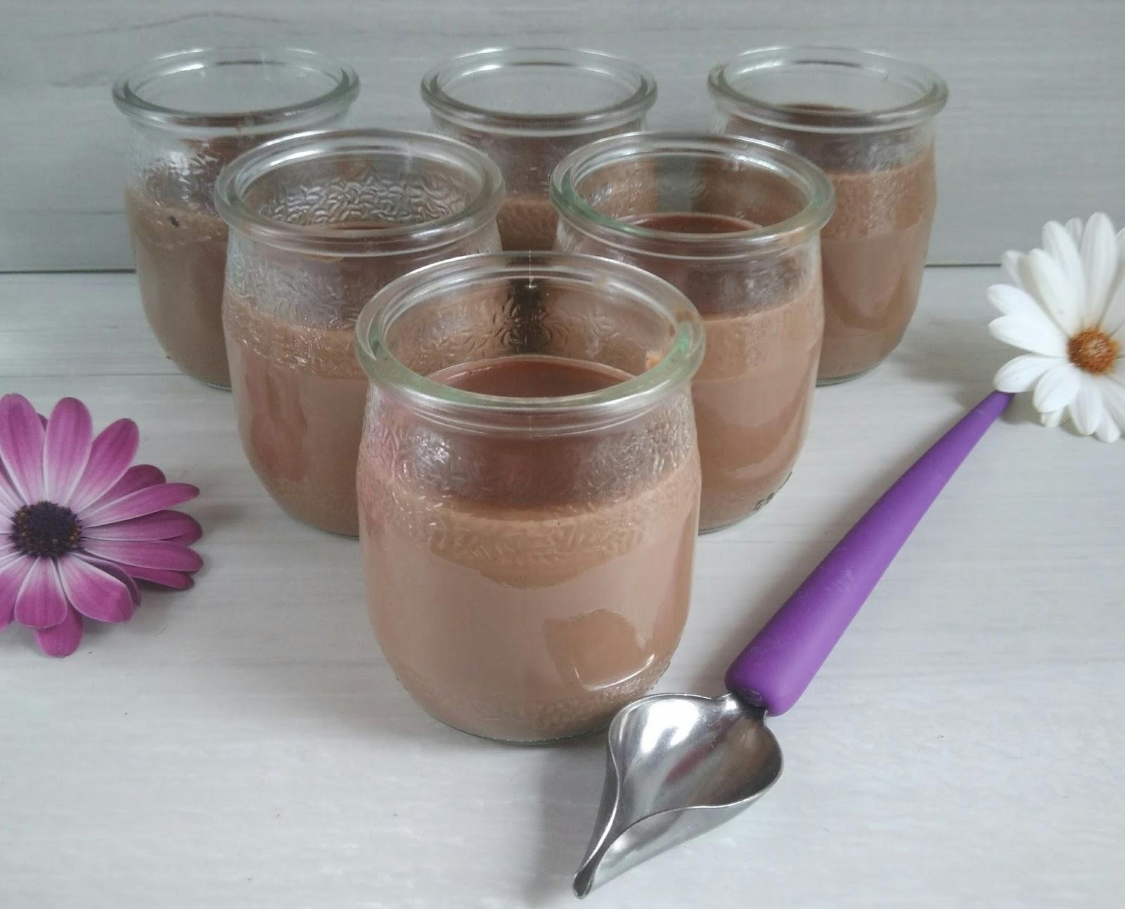 Petits pots de cr me nutella maison healthy nathychef - Petit pot de nutella ...