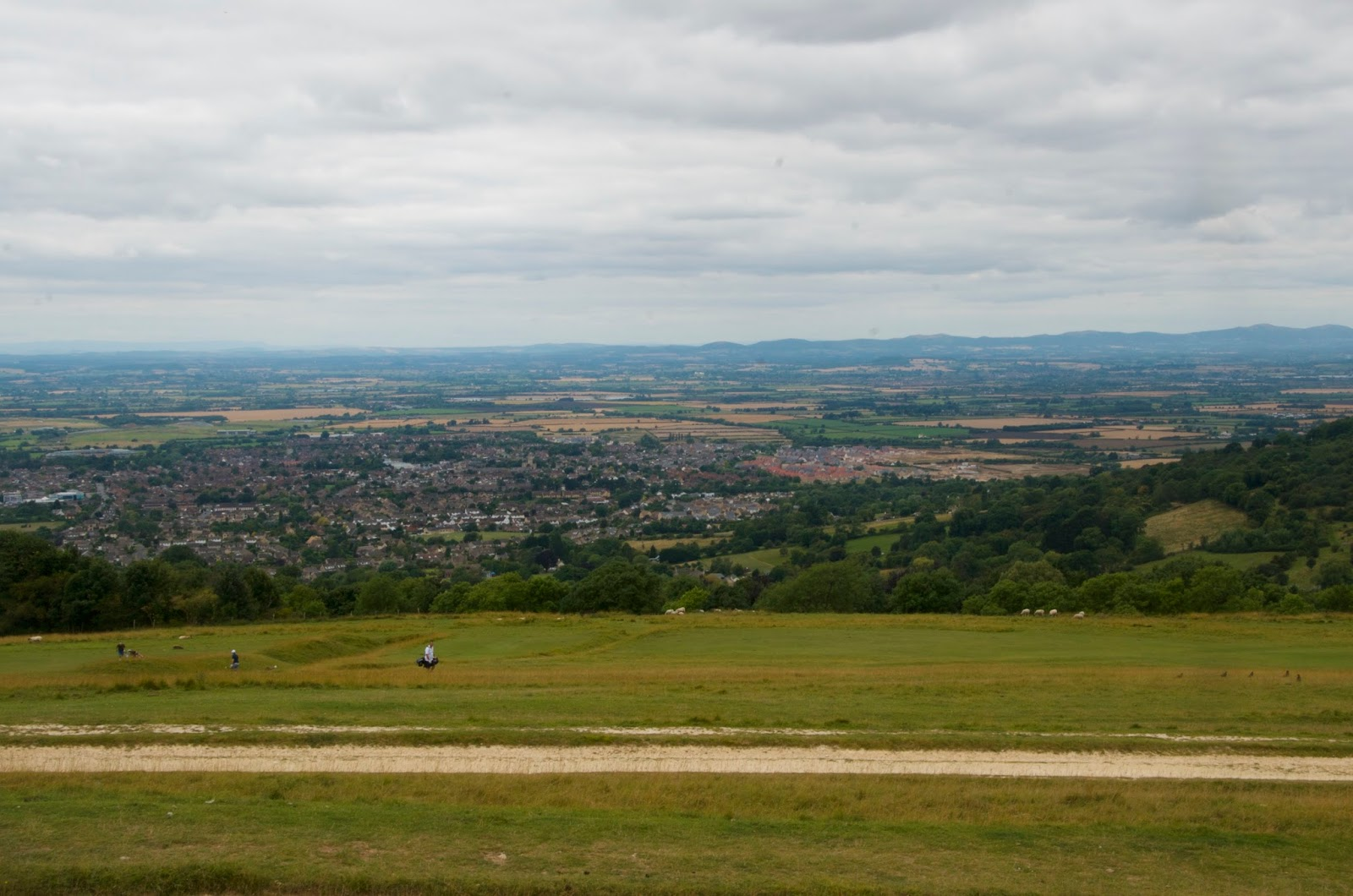Cleeve Common View of the Cotswolds