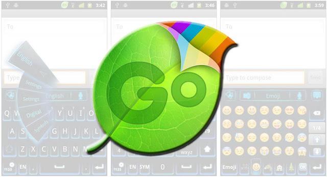 GO Keyboard, teclado gratis con emojis para Android