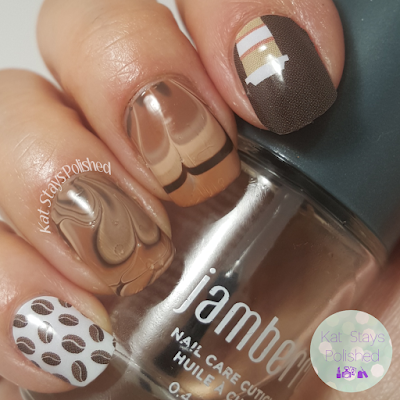 Jamberry - Latte Love | Kat Stays Polished