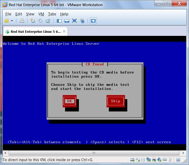 Linux Vmware