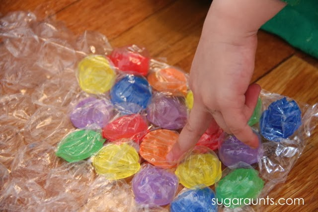 kids can work on fine motor skills needed for independence in many tasks.