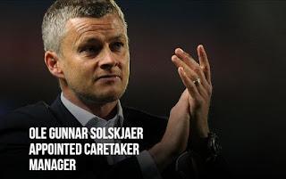 Solskjaer Resmi Jadi Pelatih Caretaker Manchester United