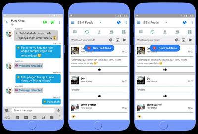 BBM Like iOS APK v3.0.1.25 MOD Terbaru (BBM New Style) + BBM LIKE IOS Full DP CLONE Terbaru BBM MOD November 2016