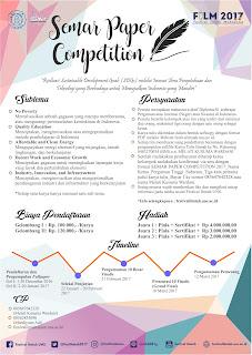 Lomba Karya Tulis Ilmiah - SEMAR PAPER COMPETITION