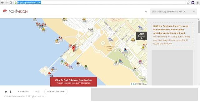 Cara mudah mengetahui lokasi Pokemon | Pokemon-Go