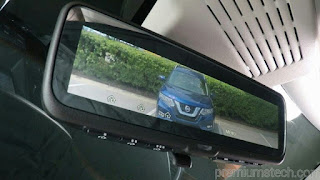 Video on How Nissan's Intelligent Rear View Mirror is operated