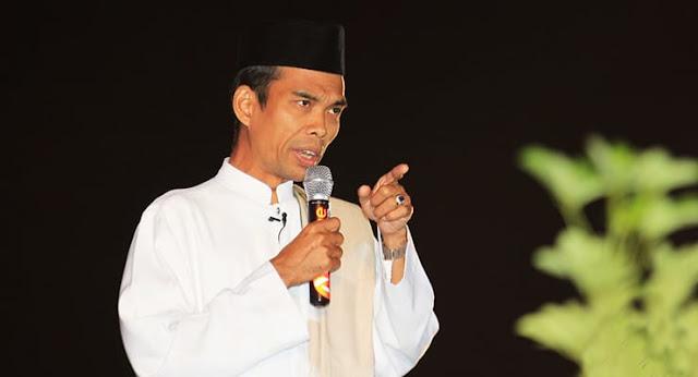 UAS: Abdul Somad Diusir, karena akan Meluluhlantakkan Suara Politisi, Waspadalah!