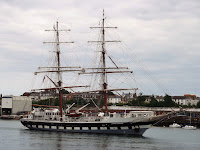 Sailing Ship Stavros S Niarcho on the Tyne