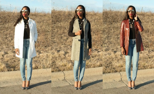 how to wear a trench coat, trench coat outfit ideas, how to shop for a trench coat, white trench coat, jewels with style, youtube, how to wear a sleeveless coat, spring coats for women, fall coats for women, black fashion blogger, black style vlogger