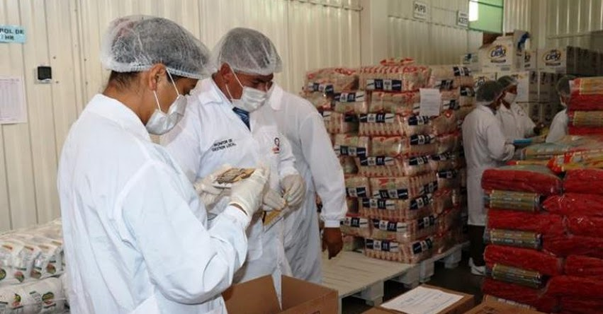 QALI WARMA: La Unidad Territorial Áncash 1, realiza liberación de lotes de alimentos para la primera entrega a instituciones educativas - www.qaliwarma.gob.pe