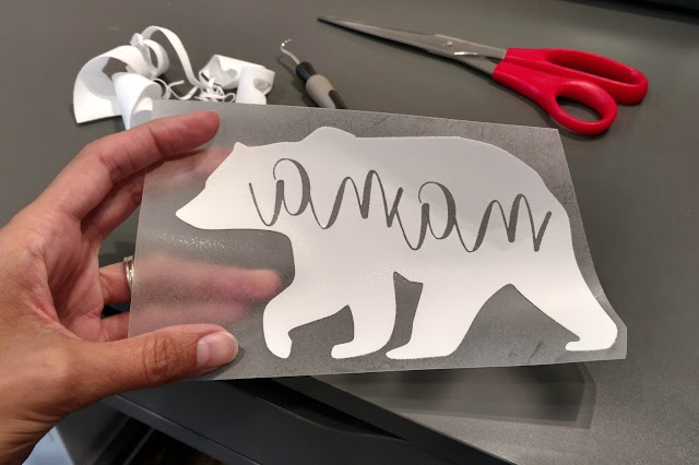 Save time and learn tips from a beginner user of flocked heat transfer vinyl.