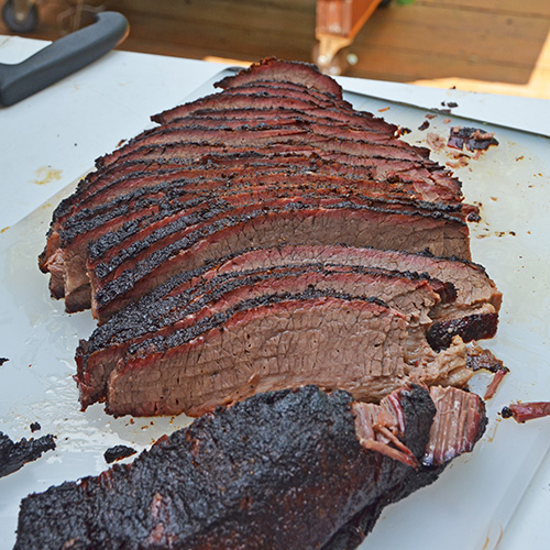 How to make competition style brisket on a big green egg kamado grill