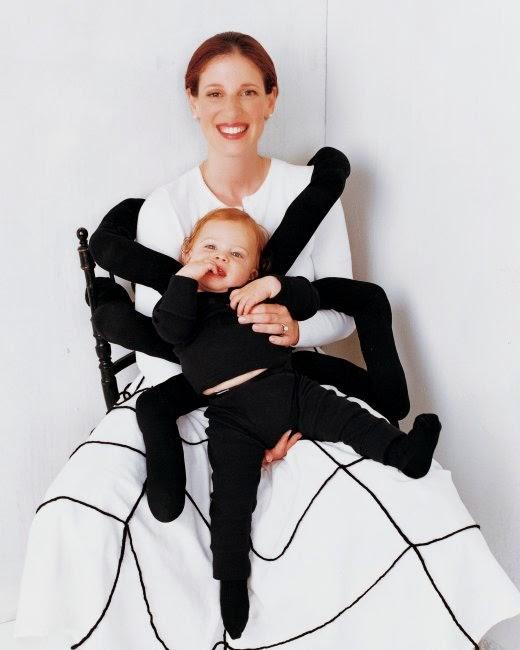 patrón gratis de disfraz de araña