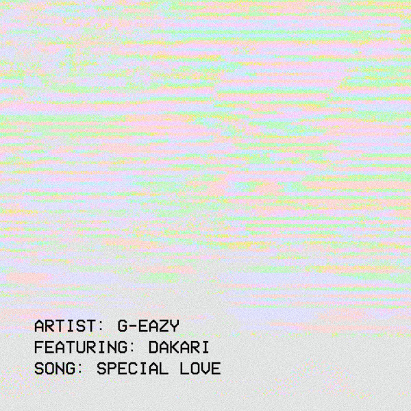 G-Eazy - Special Love (feat. Dakari) - Single Cover