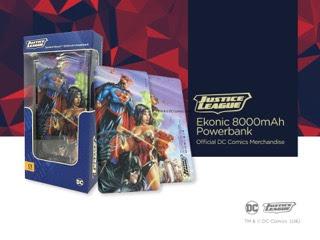 Ekonic DC Comics Powerbank