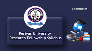 Periyar University Research Fellowship Syllabus