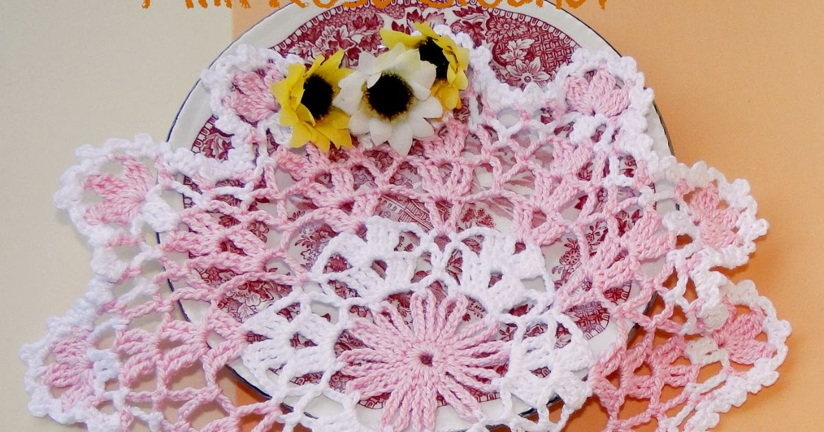 Strawberry Bonbon Doily