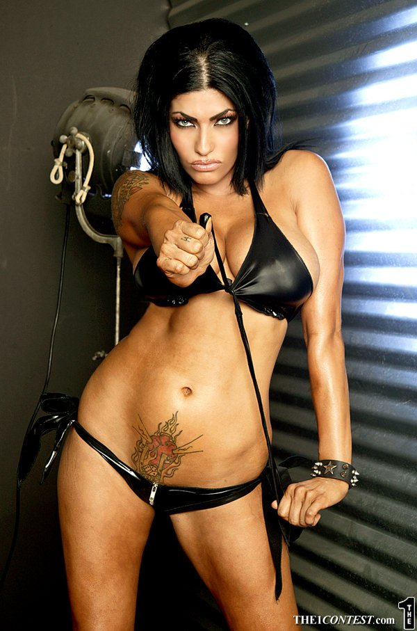 Thought differently, Shelly martinez posing in lingerie