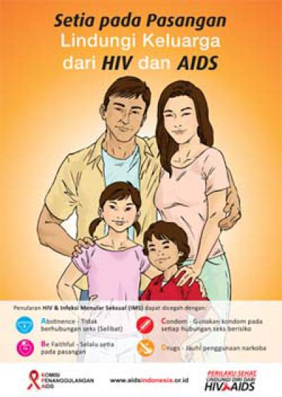 Contoh Poster Hiv Aids Yang Baik Idnews Co Id