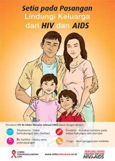 gambar poster hiv aids