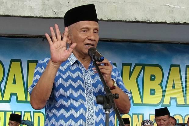 Amien Rais Ingatkan Jokowi Tak Lagi Angkat Arcandra Jadi Menteri