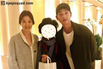[Foto] Intip Serasinya Song Hye Kyo & Song Joong Ki Saat Liburan di Paris