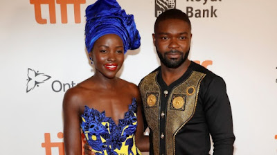 """Lupita Nyong'o """"Queen of Katwe"""" Headwrap Look book DiscoveringNatural"""