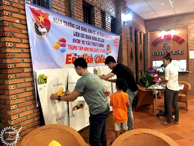 Cafe sân vườn SunShine để điếm lý tưởng cho các bạn ở Rạch Giá - Kiên Giang