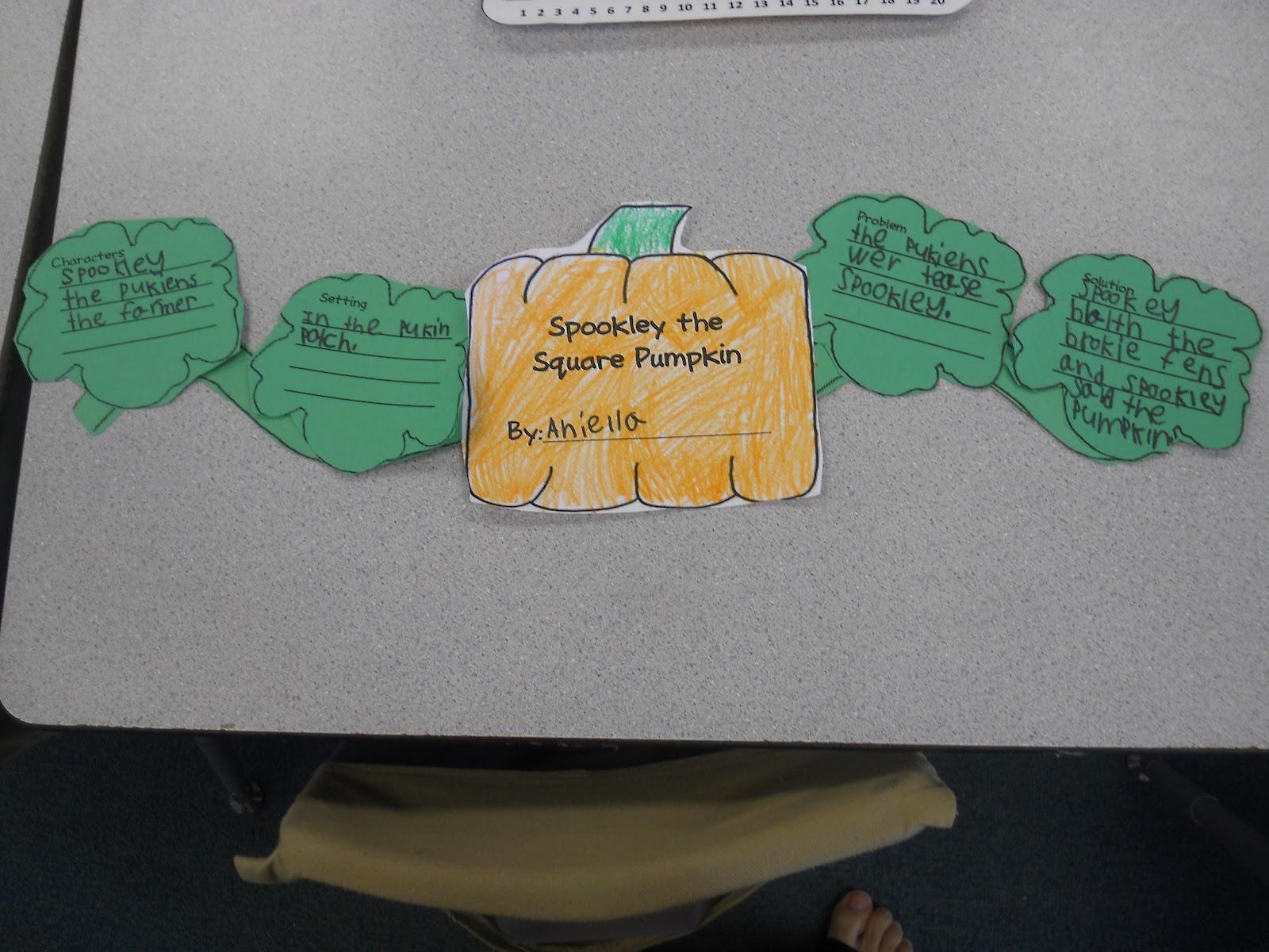 Mrs Johnson S First Grade Pumpkin Fun And A Sale