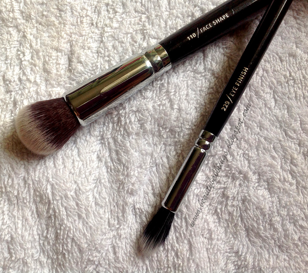 Zoeva 229 Eye Finish and 110 Face Shape Brush Review