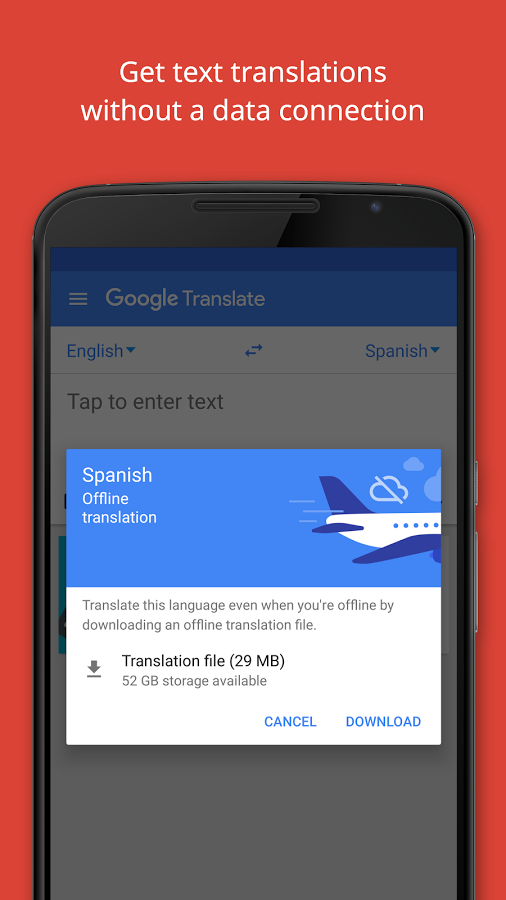 Application of Translate Version android app 5 2 apk
