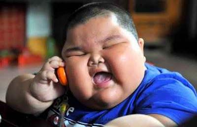 anak paling gemuk