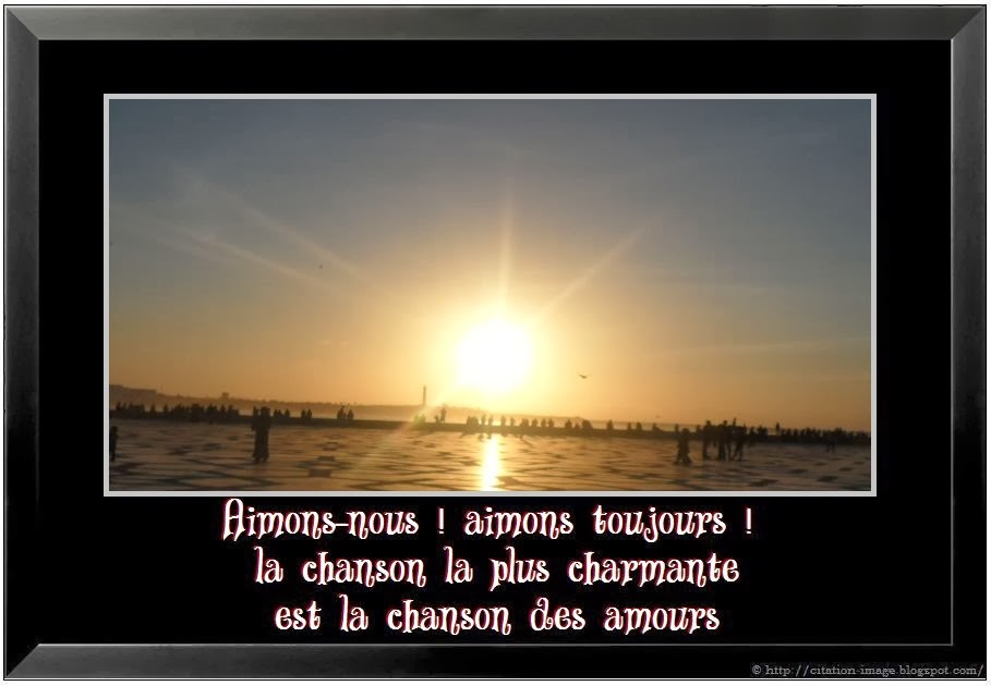 Citation D Amour Celebre