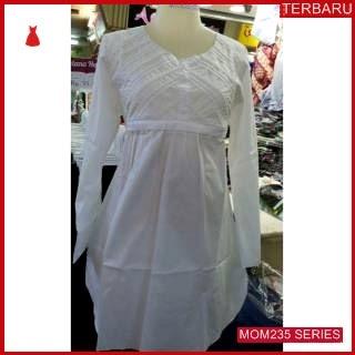 MOM235B11 Baju Atasan Hamil Putih Menyusui Bajuhamil Ibu Hamil