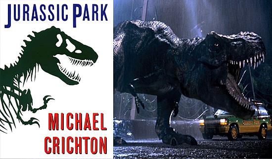 Jurassic Park - Livro virou filme