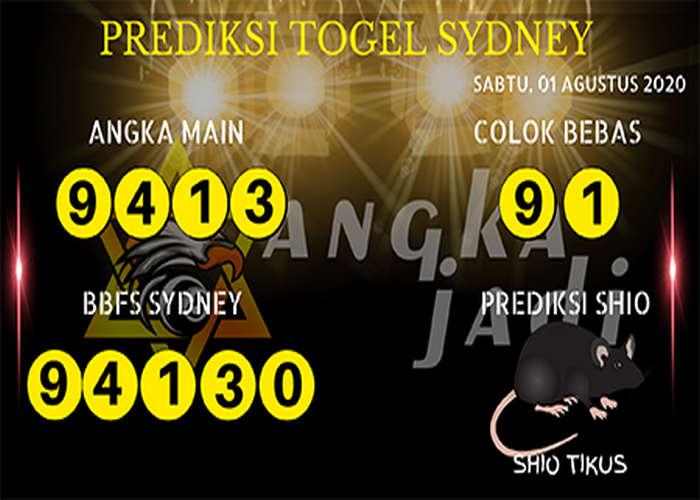 Kode syair Sydney Sabtu 1 Agustus 2020 200