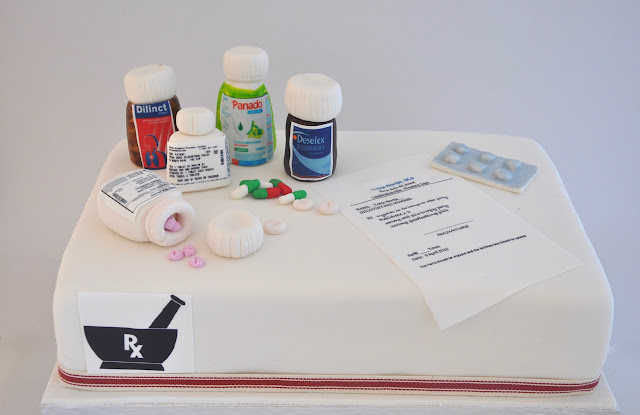 Rozannes Cakes: Coolest Pharmacy cake
