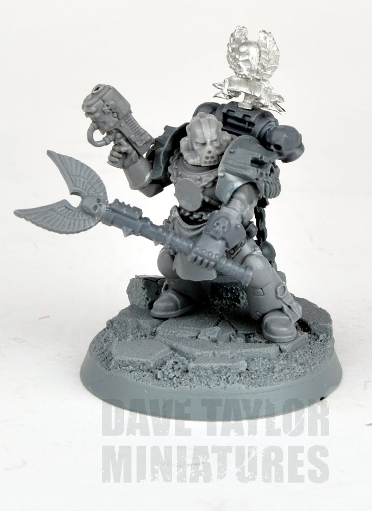 davetaylorminiatures: Space Marines with character