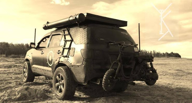 Toyota Fortuner Modification Inspired from Mad Max