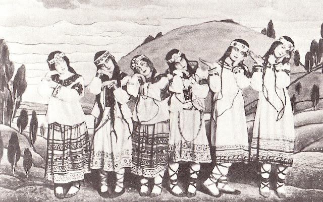 """Tancerki ze """"Święta wiosny""""/Wikipedia"""