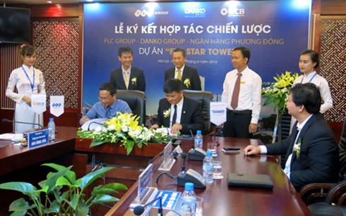 Lễ ký kết phân phối dự án FLC Star Tower