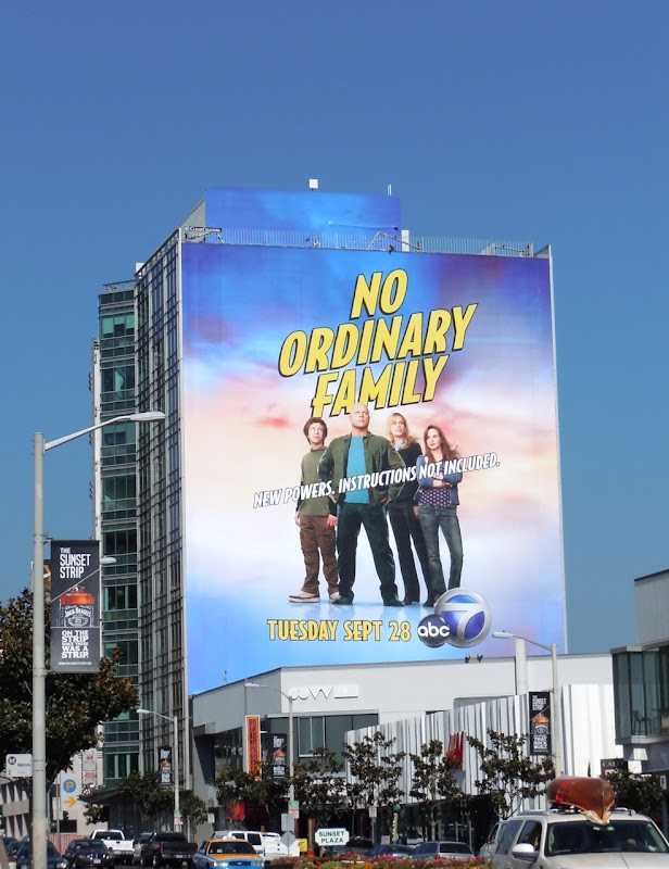 No Ordinary Family abc billboard