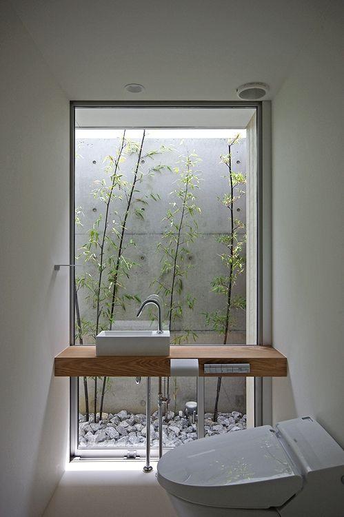 500 kiểu thiết kế nội thất phòng tắm gần gũi với thiên nhiên
