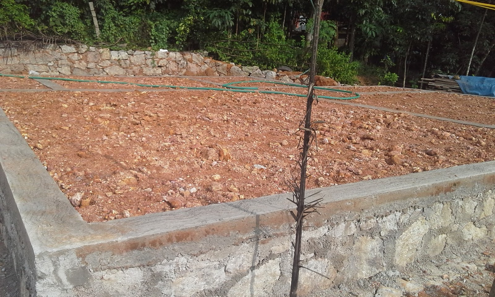 Kerala house construction tips 4 belt concrete for How long to build a house after foundation is poured