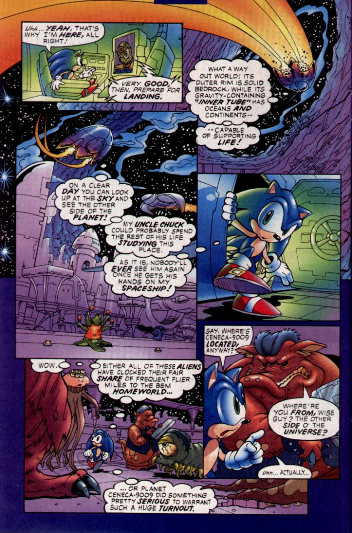 Read online Sonic The Hedgehog comic -  Issue #129 - 10