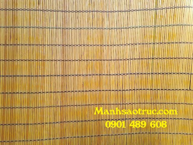 mành sáo tre trúc cật vàng (bản 0,5cm)