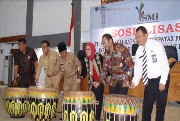 Bengkulu, DetikBengkulu.com, PT. SMI Siap Bantu Bengkulu Membangun Infrastruktur Daerah